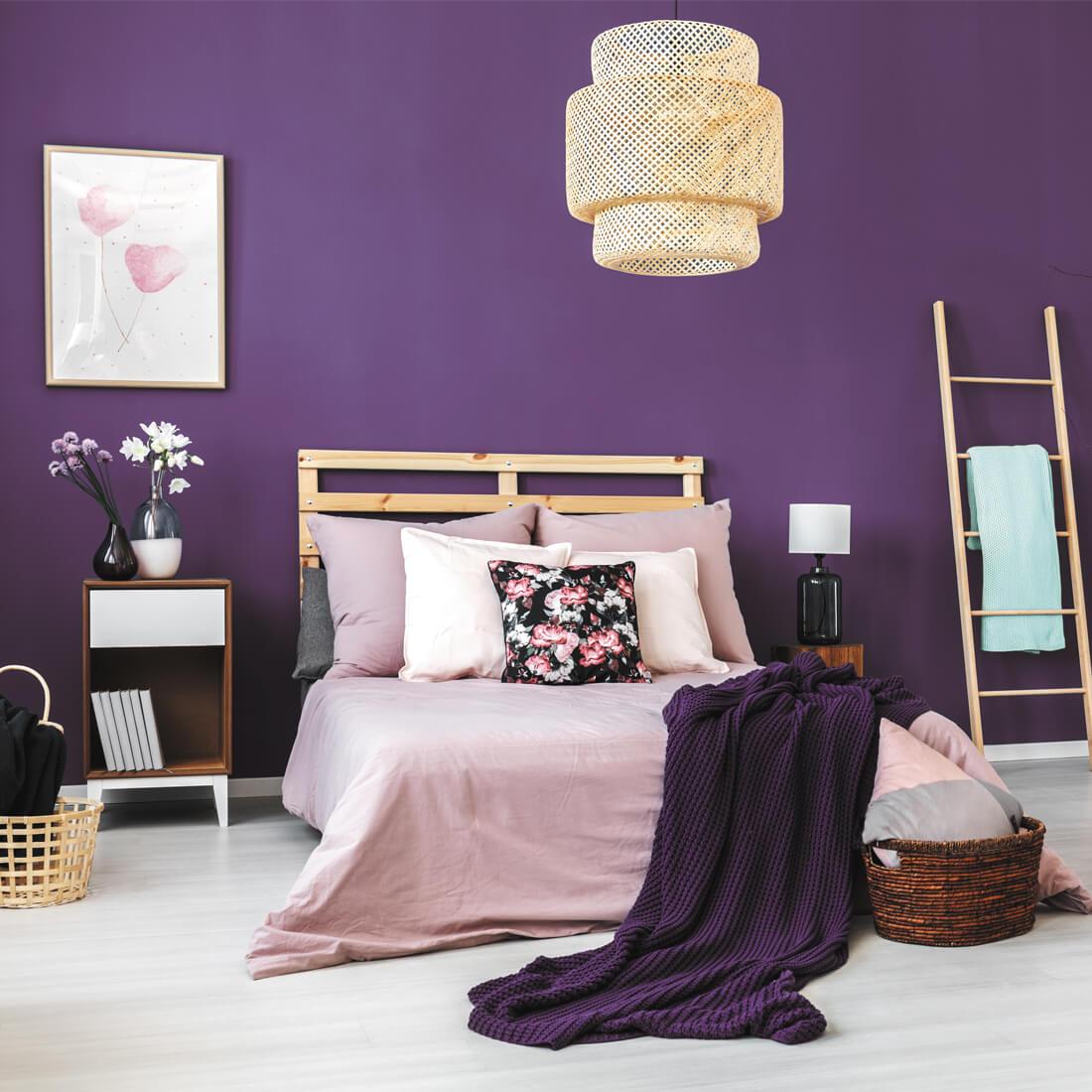 Phối màu phòng ngủ