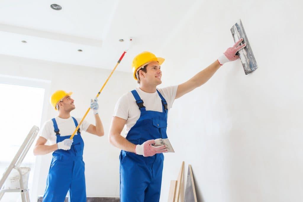 Những lỗi kỹ thuật trong thi công sơn nhà